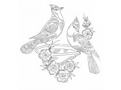 Рисунки для вышивки гладью цветы