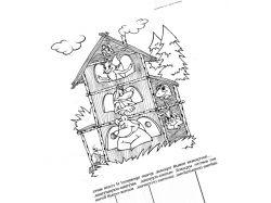Картинки к сказке теремок для детей