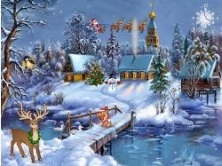 Wallpaper screensaver christmas