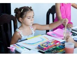 Дети рисуют осень картинки