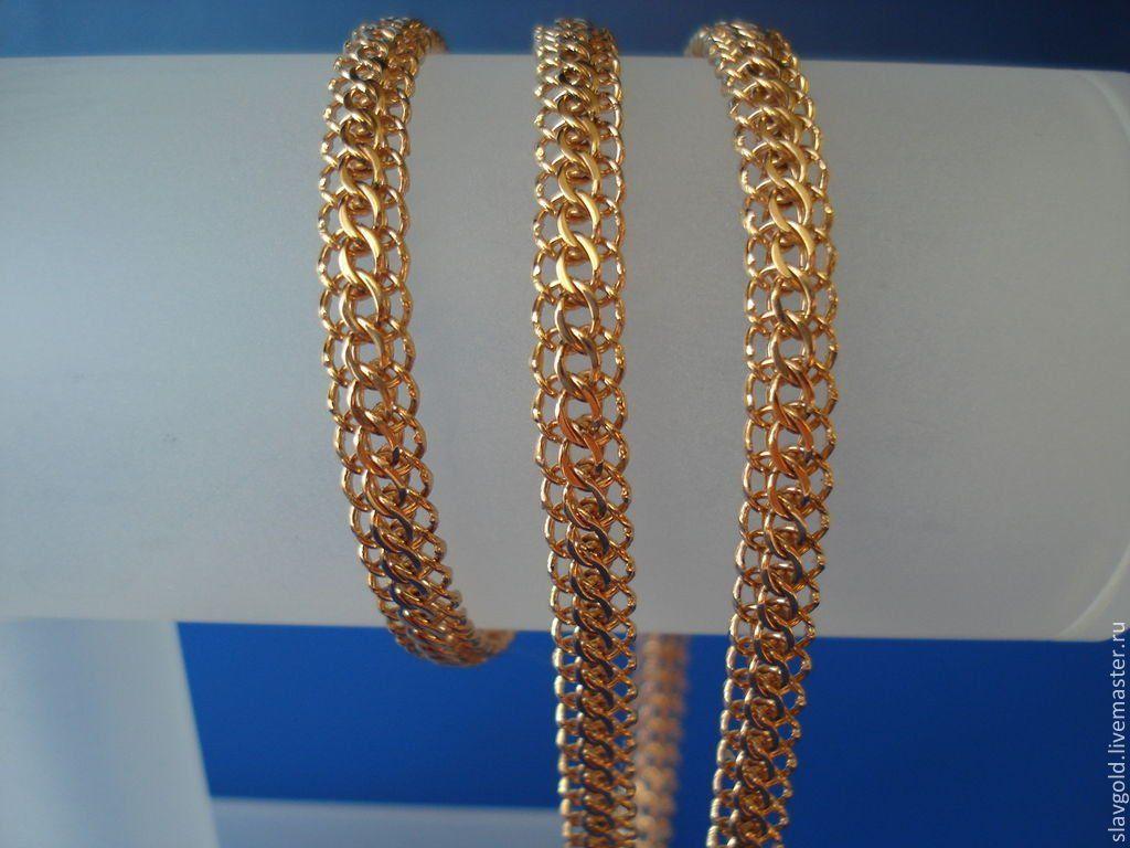 Плетение итальянка цепочка золото отзывы