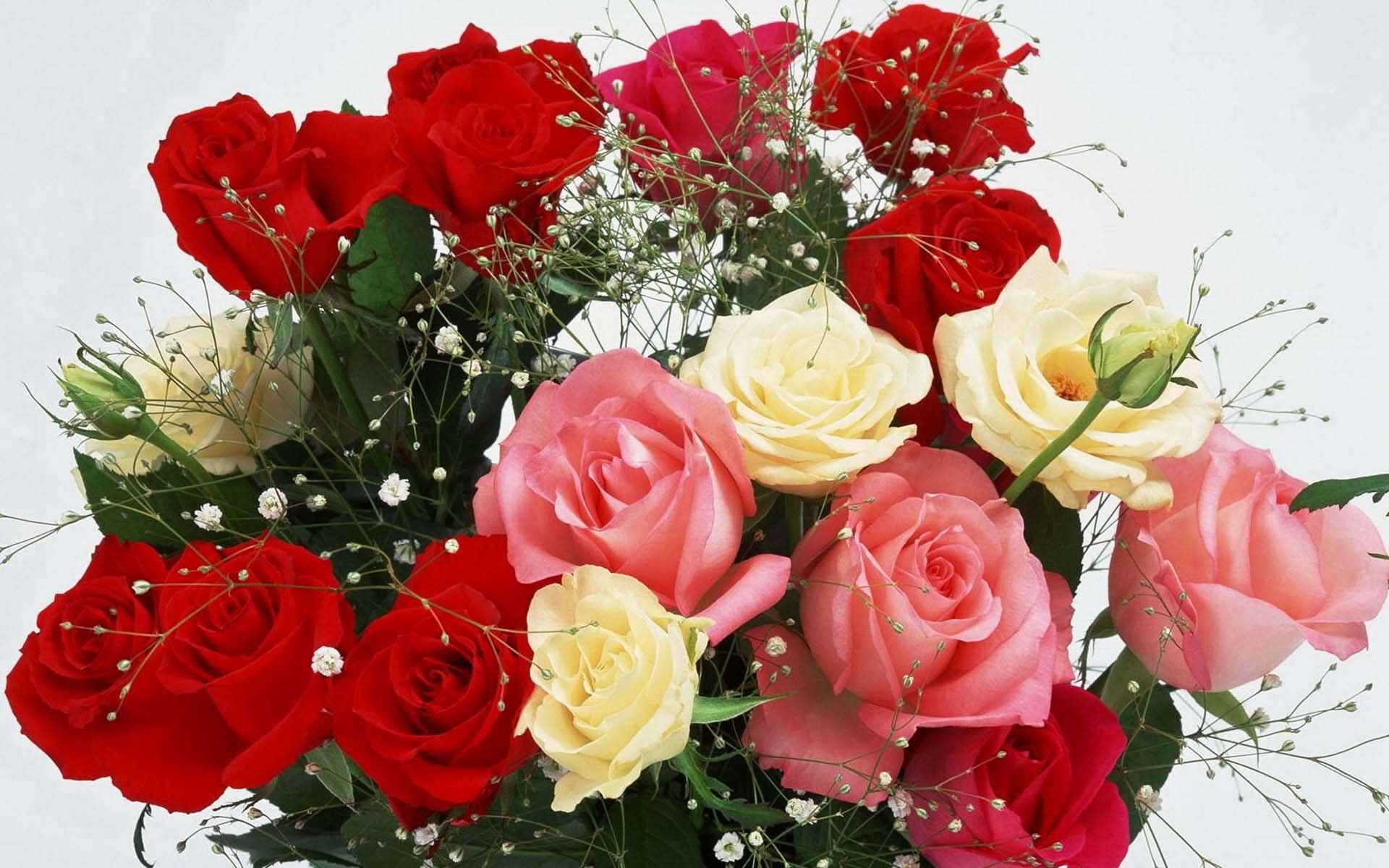 Фото красивых букетов с поздравлениями