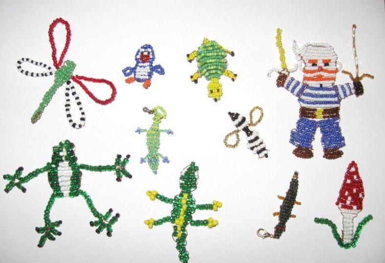 Поделки из бисера для детей 7-8 лет