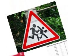 Дорожные знаки картинки осторожно дети 9