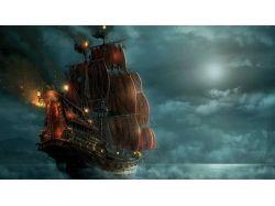 Пиратские флаги картинки 9