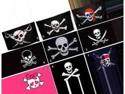 Пиратские флаги картинки 4