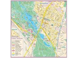 Карта города с улицами 3