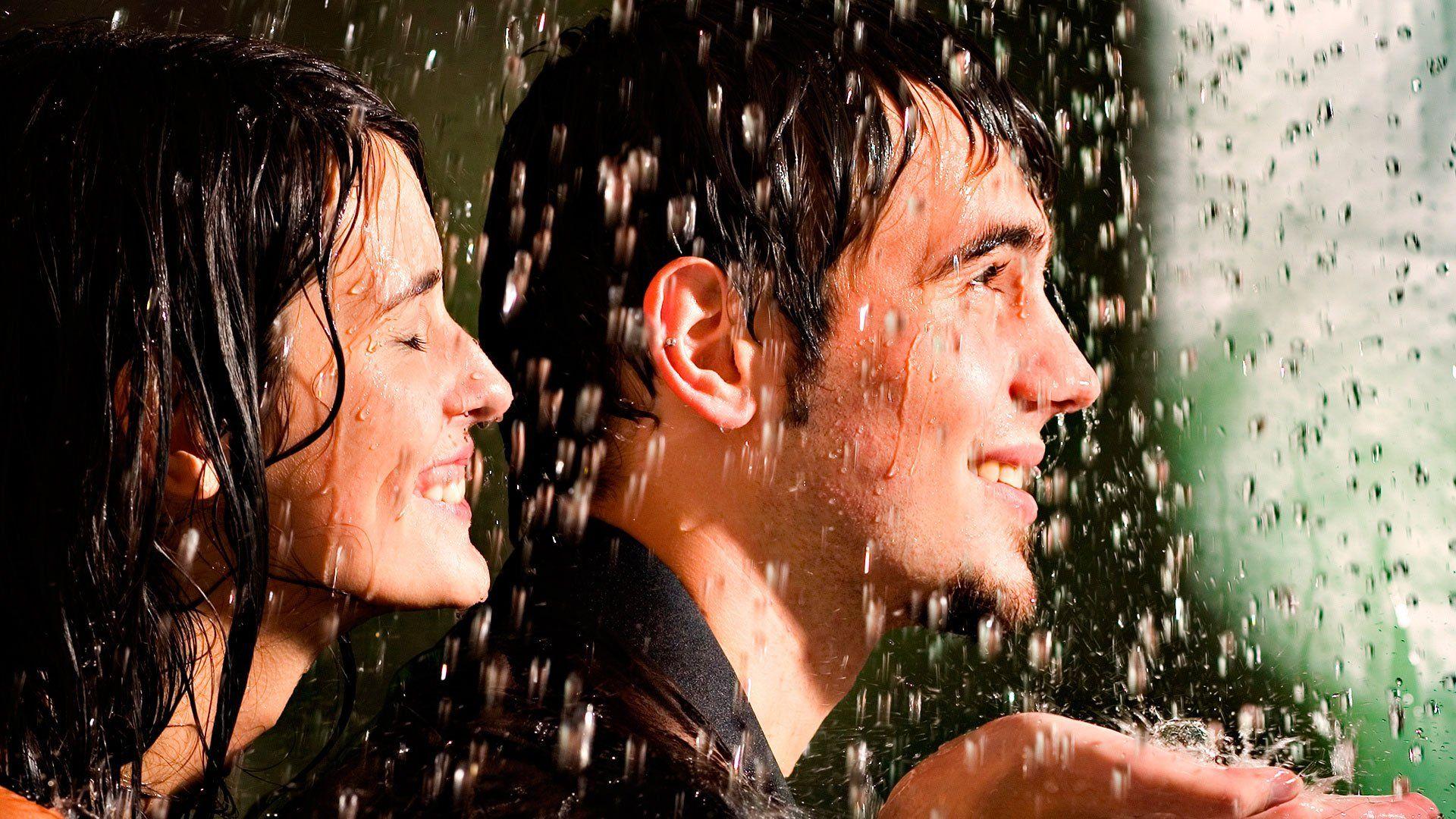 Поцелуй под дождем  № 3358112 без смс