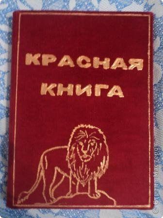 Красная книга с животными своими руками 84