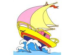 Корабли детские рисунки 7