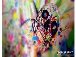 Абстракция рисунки маслом 7