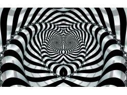 Абстракция рисунки черно белые 7