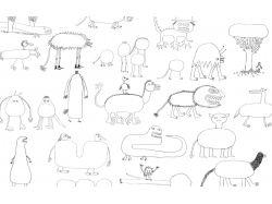 Абстракция рисунки детей карандашом 7