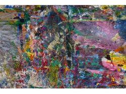 Абстракция рисунки акриловыми красками 7