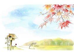 Рисунки акварелью романтика 7