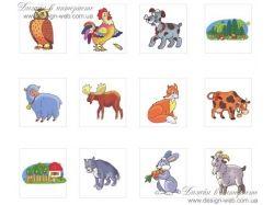 Насекомые рисунки животных 7