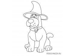 Картинки хэллоуин раскраски 7