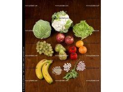 Натюрморт фрукты и овощи фото 5