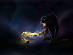 Пантера фэнтези картинки 7