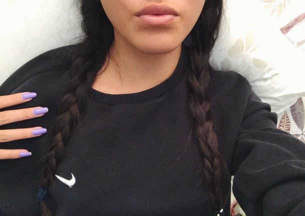 Фото девушек с черными волосами на аву в вк
