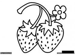 ягода - раскраски для детей 7
