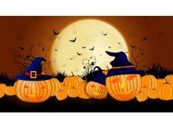 Картинки осень хэллоуин 7