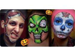 Хэллоуин фото макияж для мужчин 7