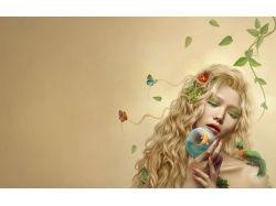 Весна фэнтези картинки 7