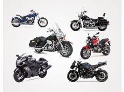 Мотоциклы рисунки в векторе 7