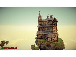 Красивые здания в майнкрафт фото 7