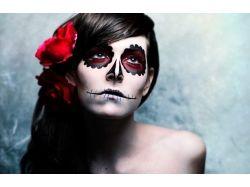 Фото хэллоуин макияж 7