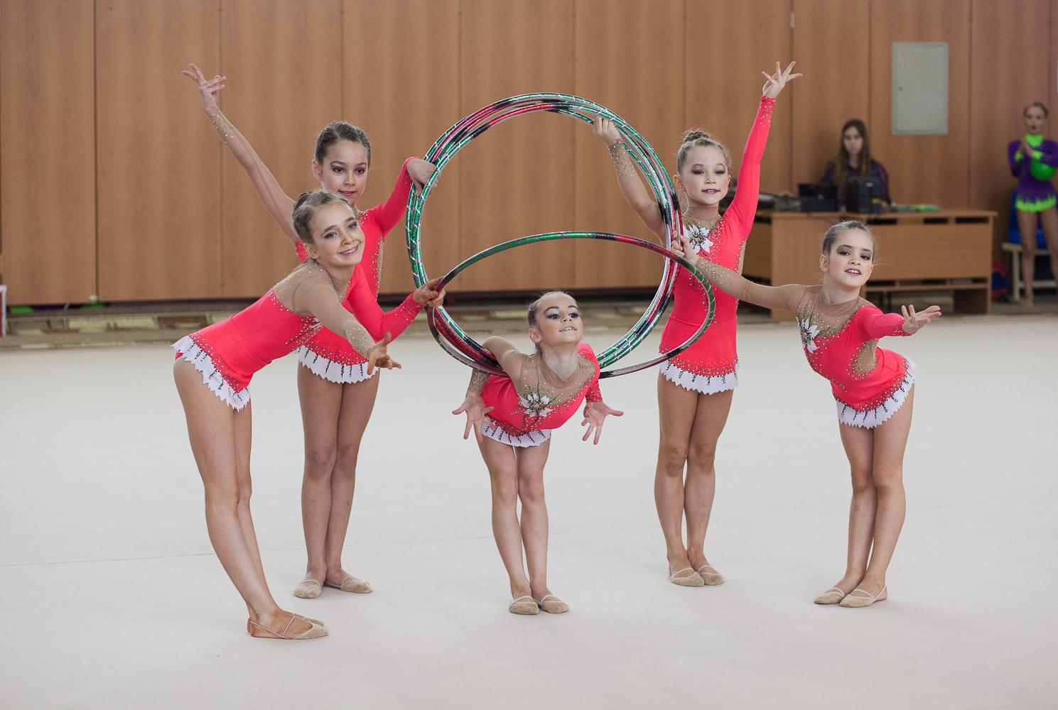 Подарки гимнасткам на соревнованиях