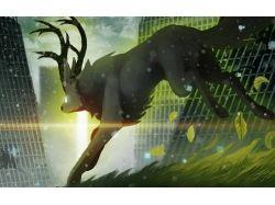 Романтика рисунки животных 7