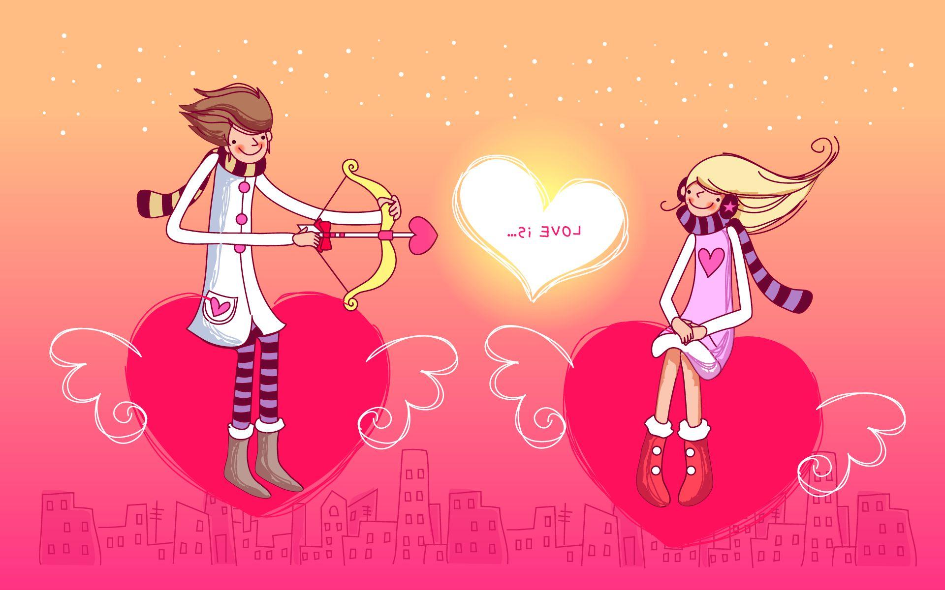 Прикольные поздравления в день святого валентина другу