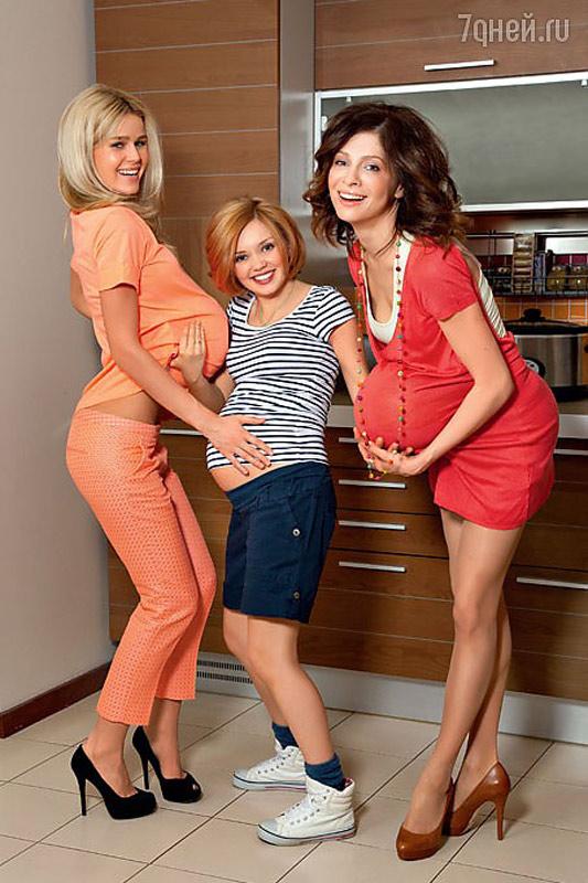От кого саша из кухни беременна 39