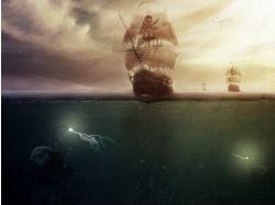 Корабли рисунки и фото 7