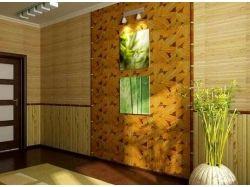 Рисунок бамбука в интерьере 7