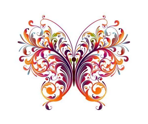 Узоры для бабочки