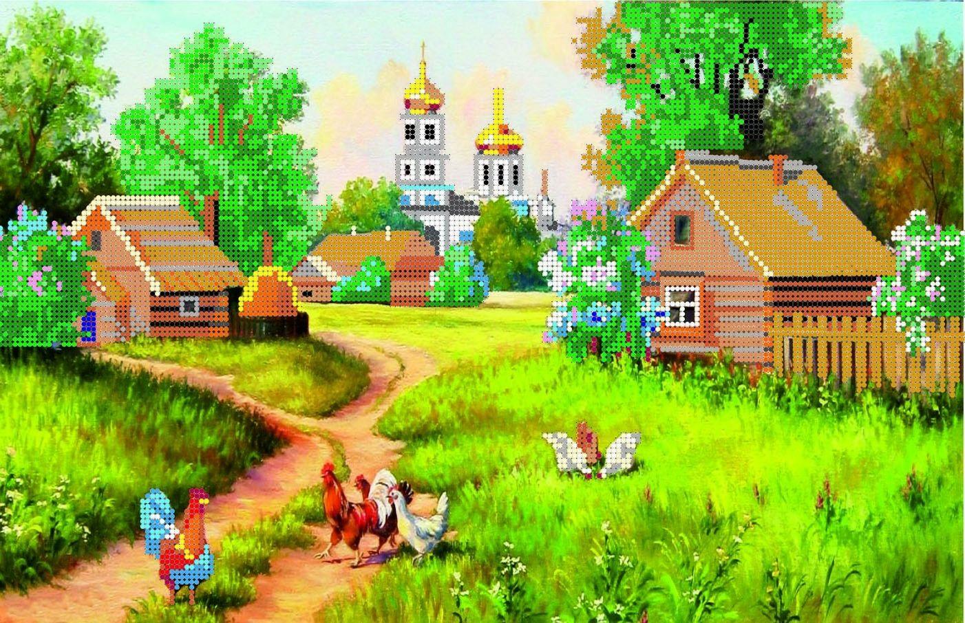 Интересные и красивые стихи на тему «Деревня» 22