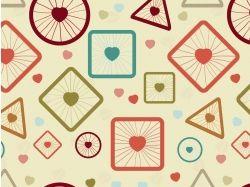 Абстракция рисунки геометрические фигуры 7