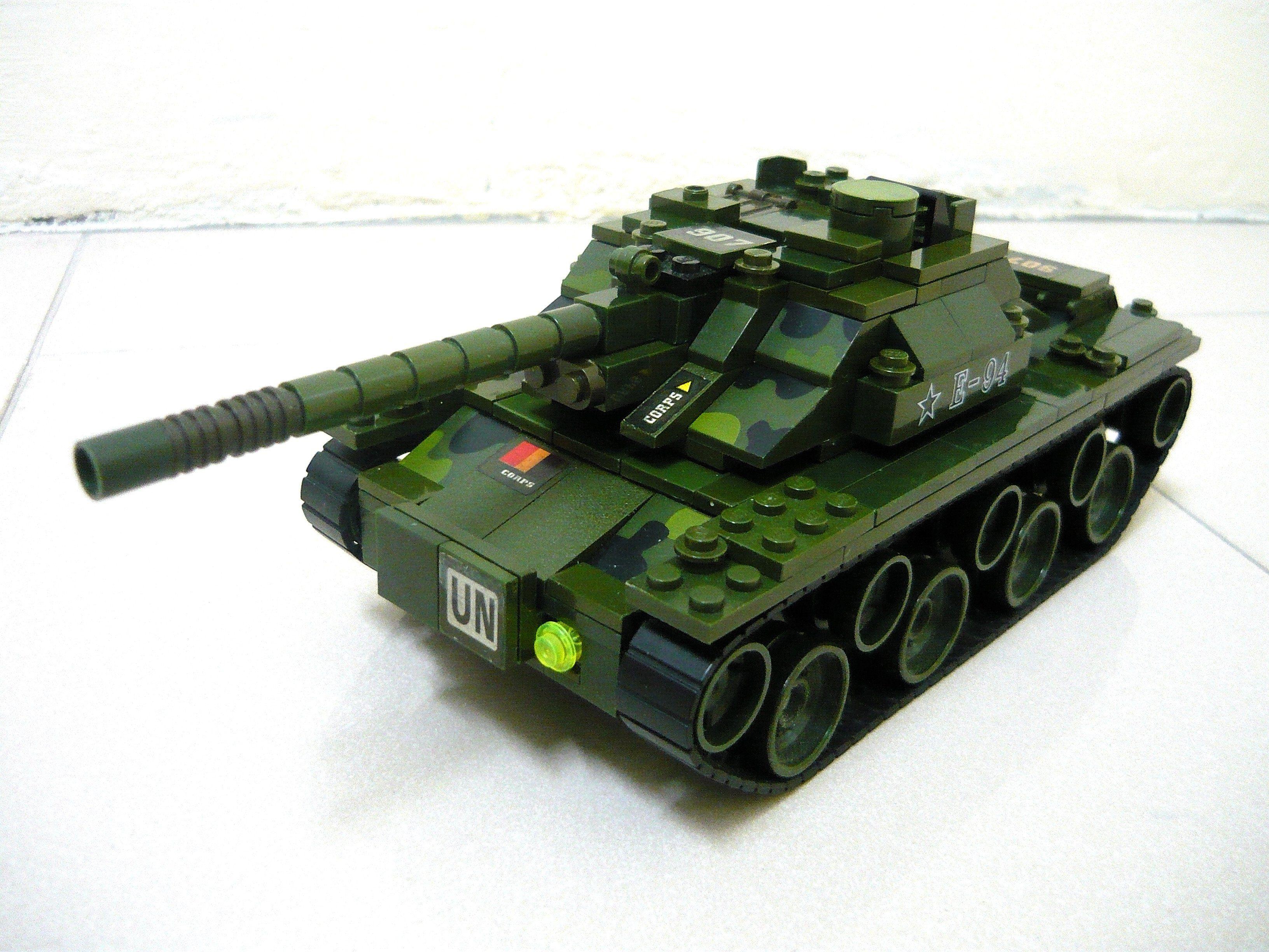 Как из лего сделать танк из танков онлайн