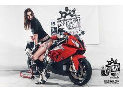 Девушки на мотоциклах фотографии 7