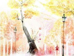 Осень рисунки фото 7