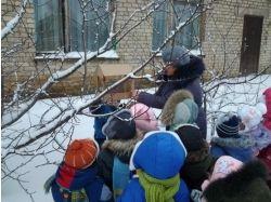 Фото зима с детьми 7
