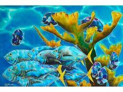 Фото рисунки подводный мир 7