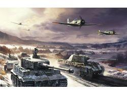 Картинки самолеты танки 7