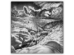 Зима рисунки красивые 7