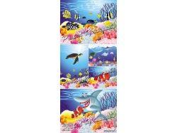 Виньетка подводный мир 7