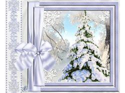 Зима открытки анимация 7