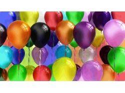 Красивые шарики воздушные с днем рождения картинки анимация 7